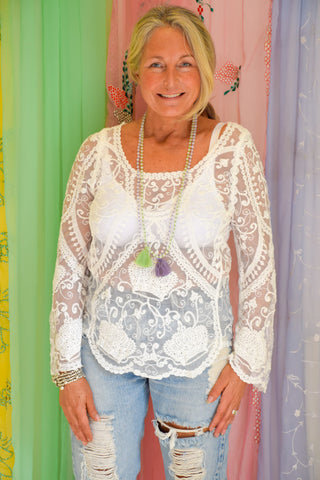 Lace Gypsy Emily Top