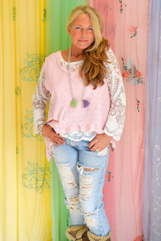 Prairie Gypsy Lace Moon Top