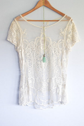 Lace Gypsy Juliette Tee