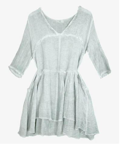 Linen Gypsy Sandy Dress