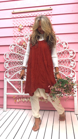 Earth Gypsy Smock Dress