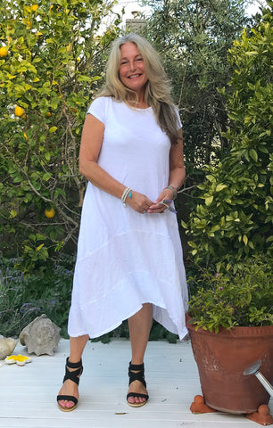 Linen Gypsy Cotton/Linen Summer Dress