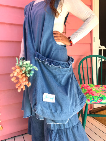 Prairie Gypsy Denim Boho Bag