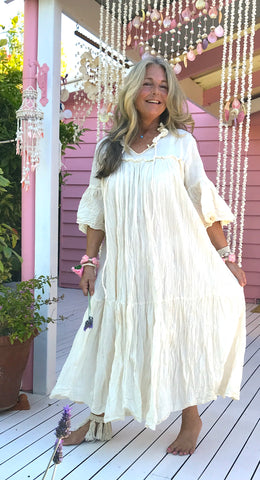 Prairie Gypsy Maxi Dress