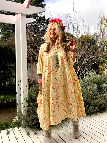 Prairie Gypsy Pinwheel Portofino Dress