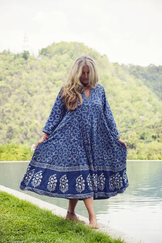 Indigo Gypsy Indie Dress