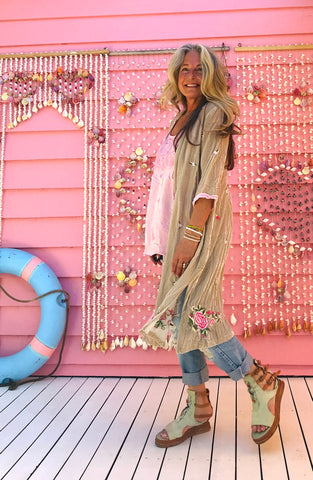 Sea Gypsy Luxe Velvet Duster