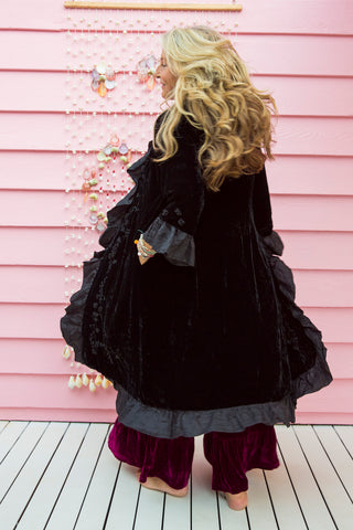 Sea Gypsy Luxe Velvet Opera Coat