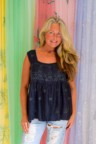 Sea Gypsy Luxe Serena Silk Camy