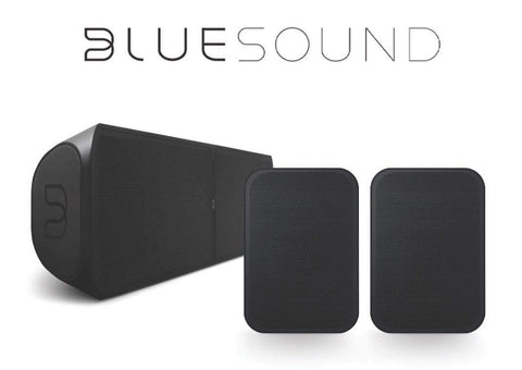 BlueSound PULSE SOUNDBAR 2i & FLEX 2i Home Theatre Pack