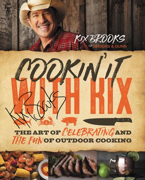 "Autographed ""Cookin' It With Kix"" Cook Book"