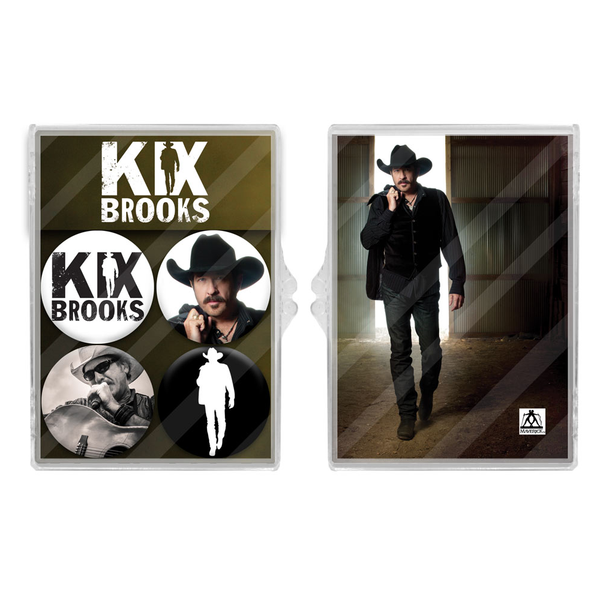 Kix Brooks Four Magnet Set