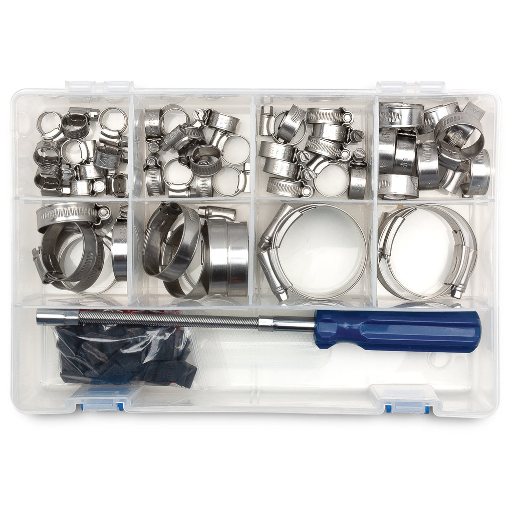 PYI Worm Gear Hose Clamp Assortment Kit #07-HCK-IT