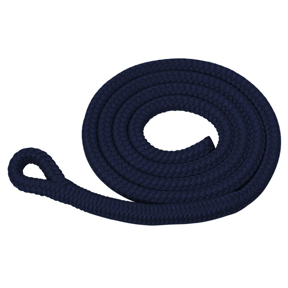 Navy Blue Spliced Fender Whip for Fendertex boat Fenders