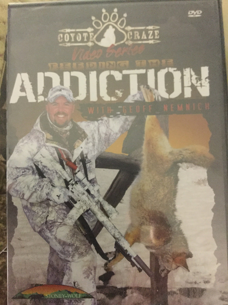 DVD - Coyote Craze  Feeding the Addiction