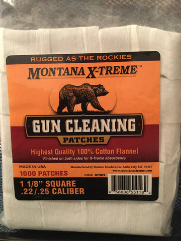 "Montana X-Treme Cleaning Patches 1 1/8"" Square"