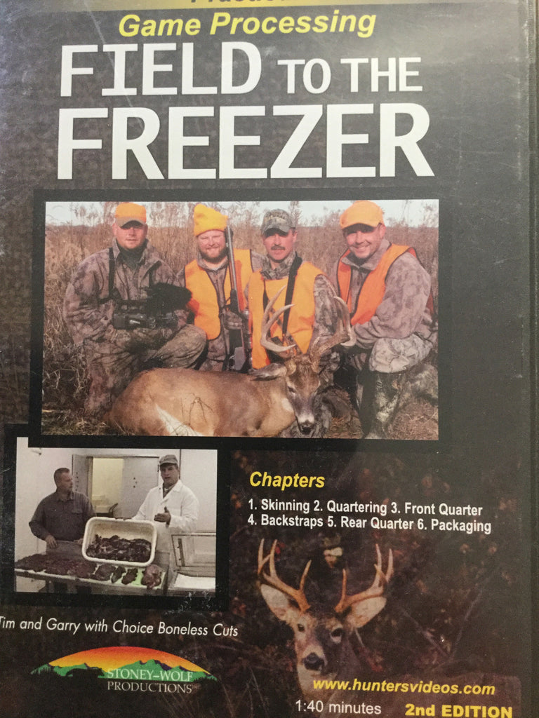 DVD - Practical Game Processing  Field to the Freezer
