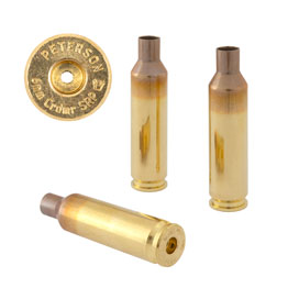 Peterson Brass 6mm Creedmoor  SRP  (50 Box)