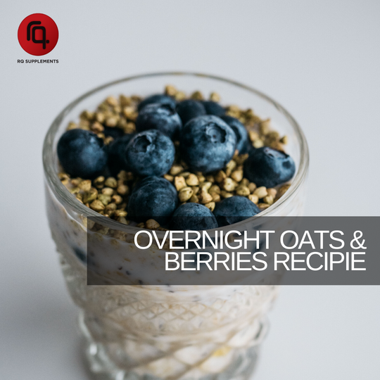 Overnight Oats and Berries Recipie