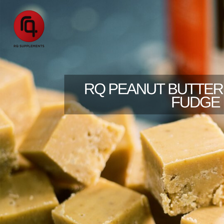 Delicious Homemade Healthier Peanut Butter Fudge.