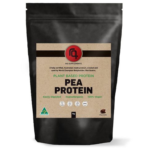 Natural Organic Pea Protein Isolate Chocolate Flavour