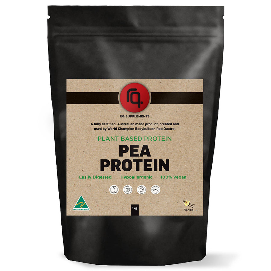 Natural Organic Pea Protein Isolate Vanilla Flavour - RQ Supplements