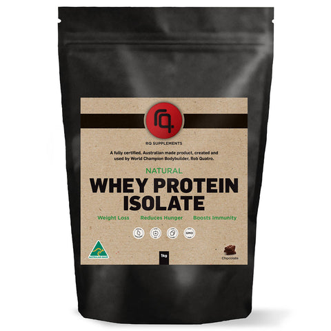 Natural Whey Protein Isolate Chocolate Flavour
