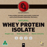 Natural Whey Protein Isolate Vanilla Flavour