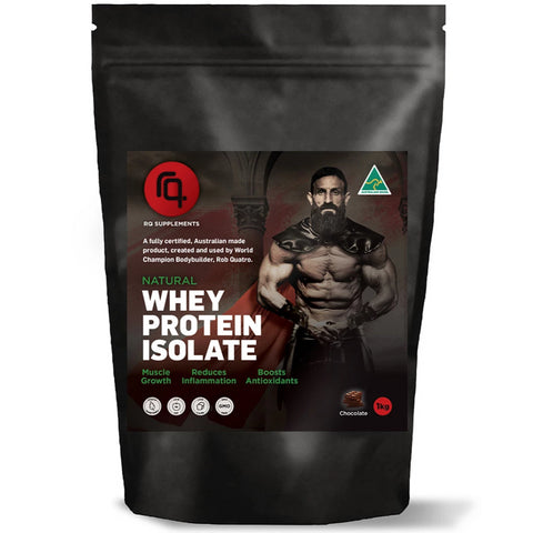 Spartan Pro Whey Protein Isolate Chocolate Flavour - RQ Supplements
