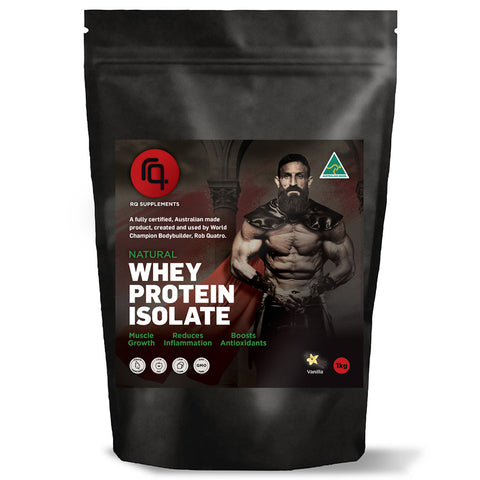 Spartan Pro Whey Protein Isolate Vanilla Flavour - RQ Supplements