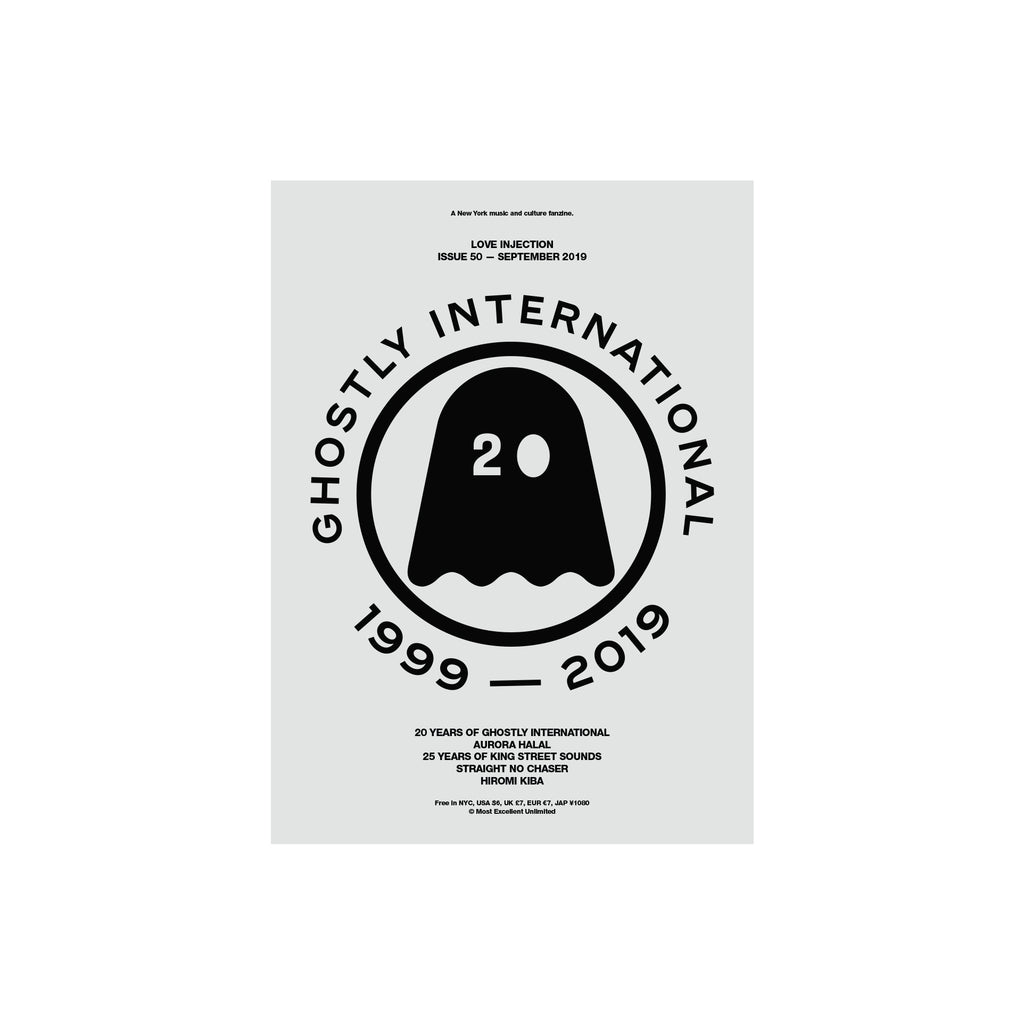 Love Injection Fanzine 50 [Ghostly Cover] (Various Formats)