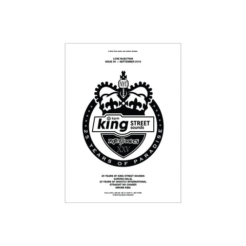 Love Injection Fanzine 50 [King Street Sounds Cover] (Various Formats)