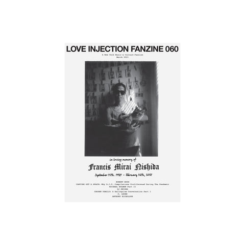 Love Injection Fanzine 60 (Physical or Digital)