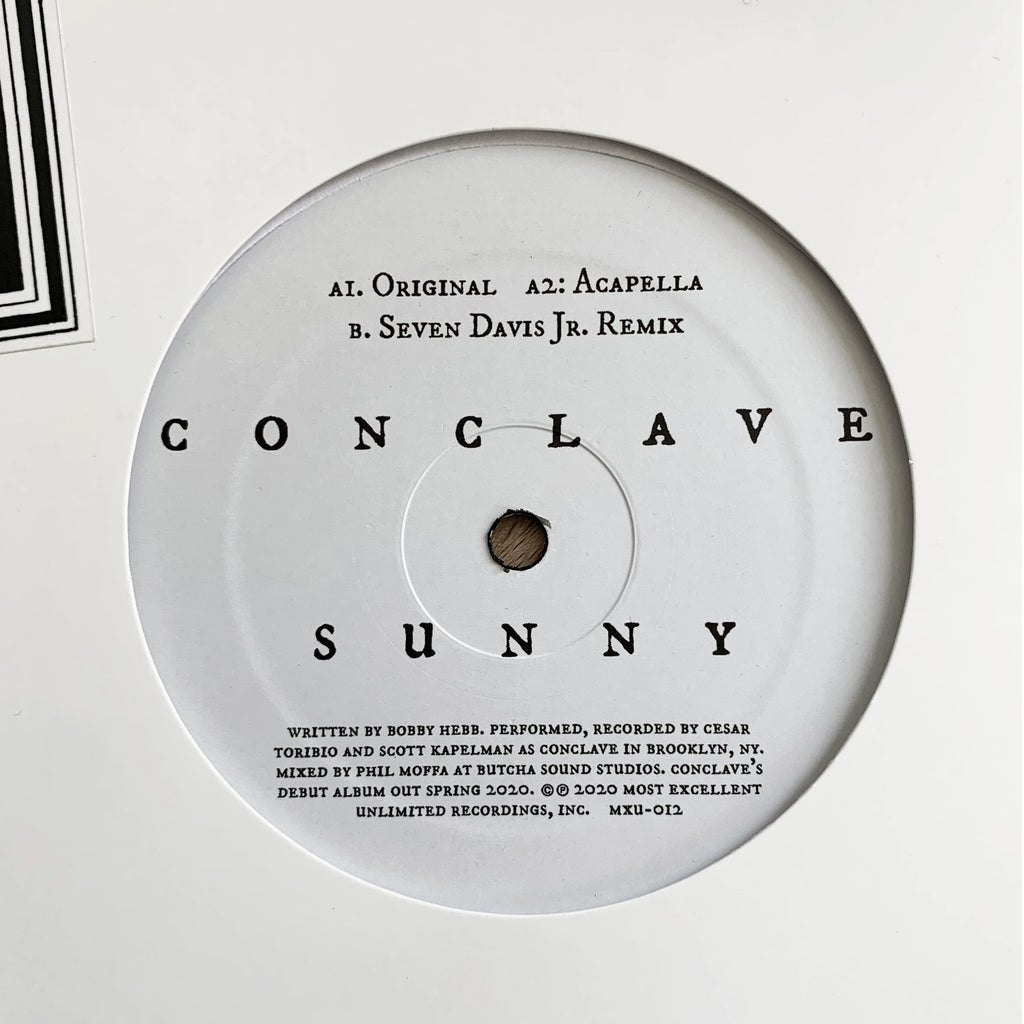 "Conclave, ""Sunny"" 12"""