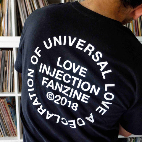 "Love Injection ""Universal Love"" Tee Black"