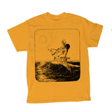 "Love Injection Gold ""Sunset"" Tee"
