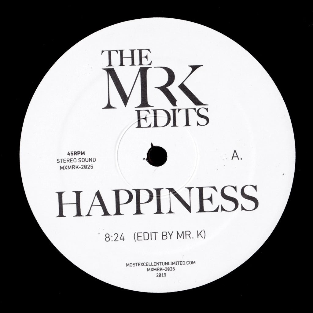 Happiness / As - Edits By Mr. K 12""