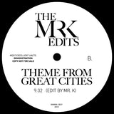 Time Of The Season / Theme From Great Cities - Edits By Mr. K 12""