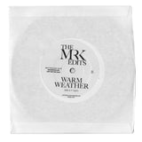 Live In Me / Warm Weather - Edits By Mr. K 7""