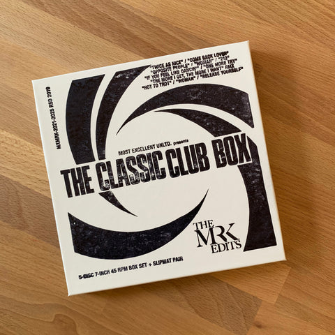 """The Classic Club Box"" - Mr. K 7"" Edits (Record Store Day 2019 Item)"