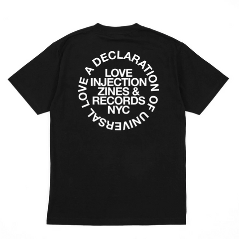 Love Injection Universal Love Classic Tee (Black)