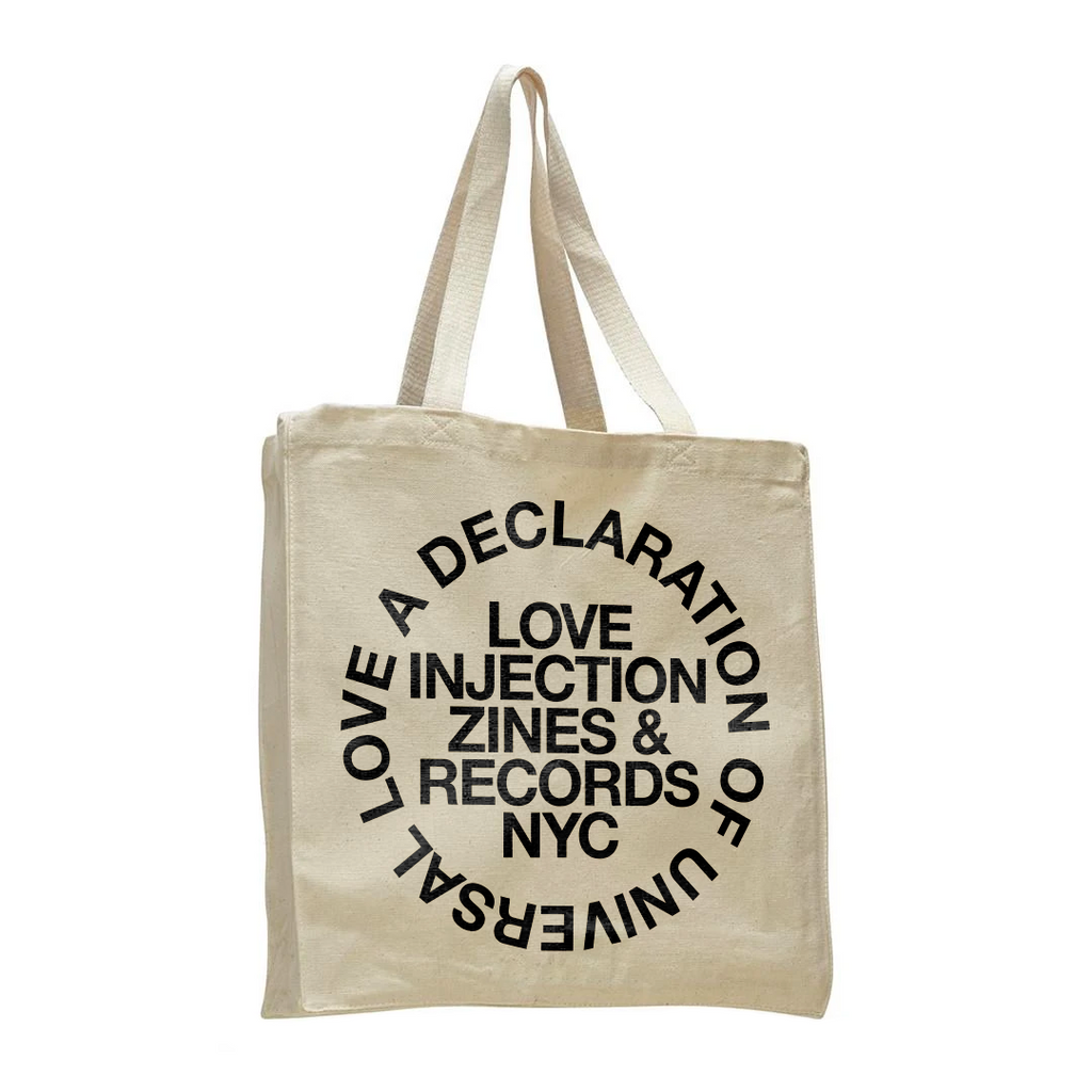 "Love Injection ""Universal Love"" Tote Bag"