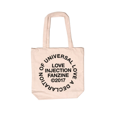 "[Pre-Order] Love Injection ""Universal Love"" Tote Bag"