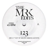 123 / My Sweet Summer Suite - Edits By Mr. K 7""