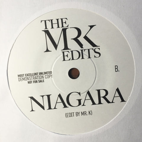 Bra / Niagara - Edits By Mr. K 7""
