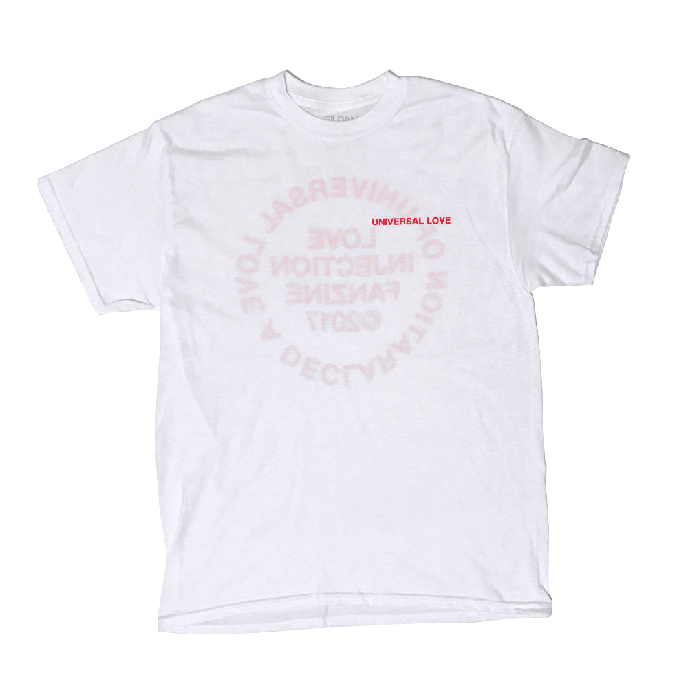 "Love Injection ""Universal Love"" Tee (Valentine's Red!)"
