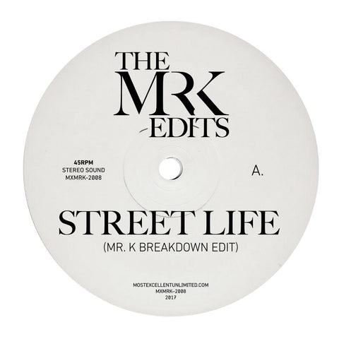 Street Life / Nubian Lady - Edits By Mr. K 12""