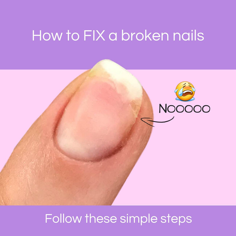 How to fix a broken nails