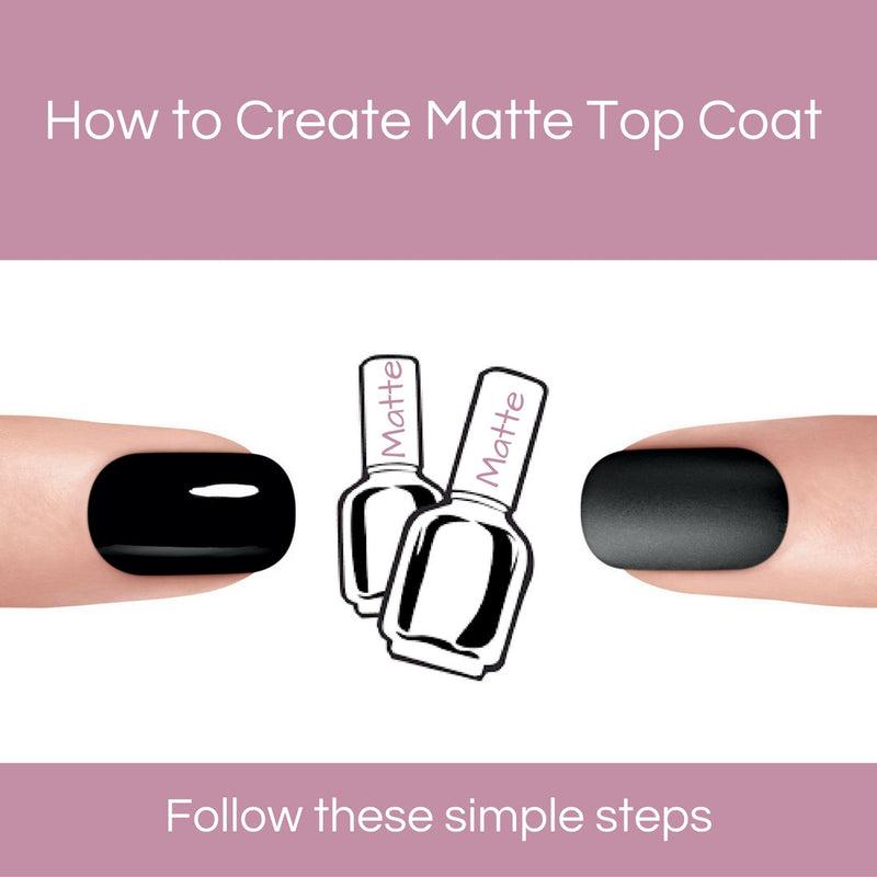 How to clear your very own matte top coat at home