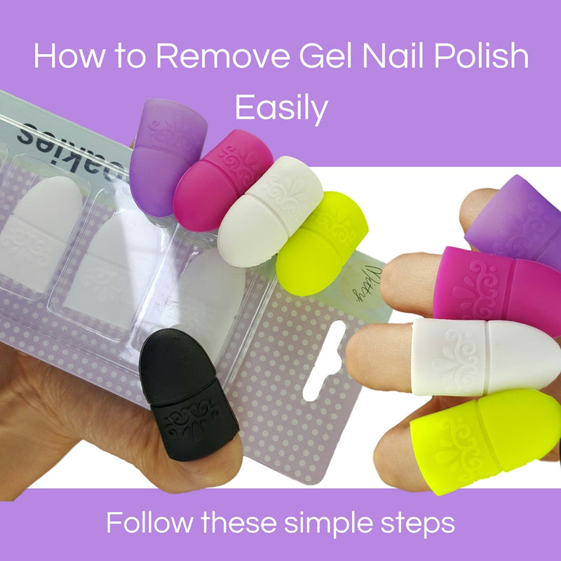 How to remove gel nail polish easily